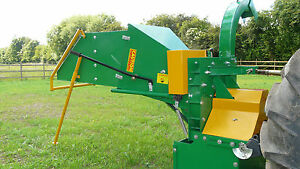 "8"" Professional Wood Chipper Woodchipper, PTO Driven. Inc. VAT and Delivery ."