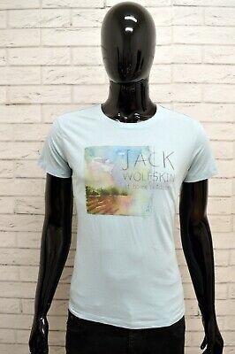 Capace Maglia Jack Wolfskin Uomo Taglia Size M Maglietta Shirt Man Manica Corta Slim