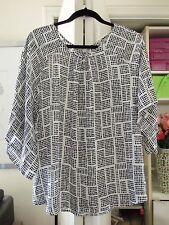Cute TARGET Polka Dot Blouse w/Unique Sleeves-Size 20-NEW-$39-from Australia