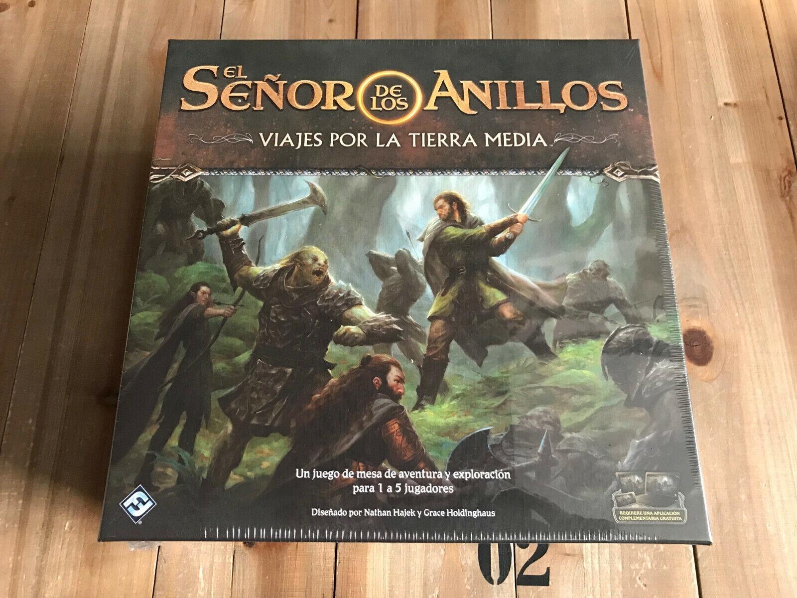 El Señor de los Anillos - Viajes por la Tierra Media - FFG - Ed. Española
