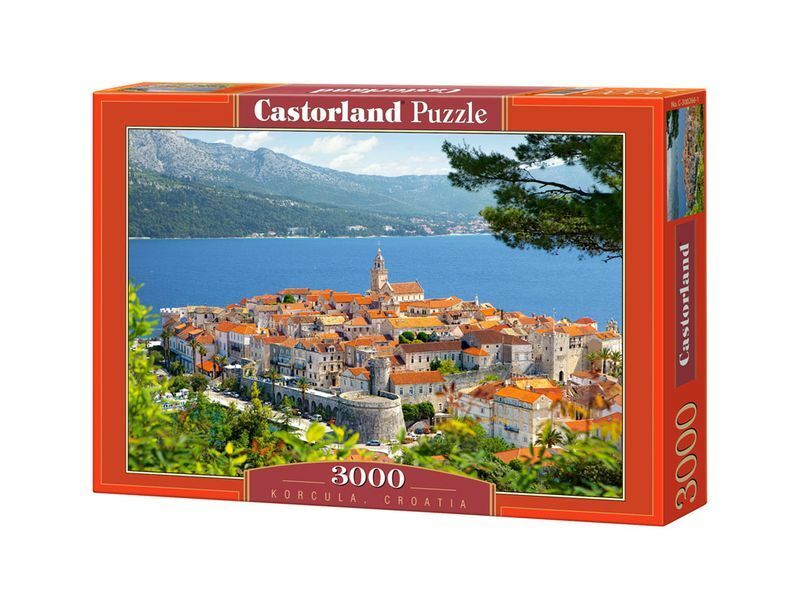 Castorland Puzzle 3000 Pieces - Korcula, Croatia - 36  x 27  Sealed box C-300266