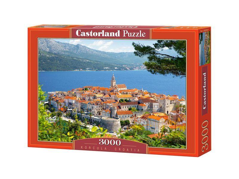 Castorland Puzzle 3000 Pieces - Korcula, Croatia - 36