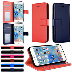 Dettagli su Per IPHONE 7 8 Plus X XS Telefono Custodia Porta Carte di Credito Tasca Alloggio
