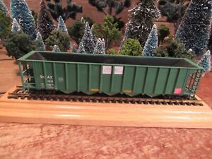 Vintage-Roundhouse-Built-Model-Railroad-Train-Car-Ho-Gauge-READY-TO-PULL-G3