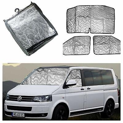 Volkswagen T5 Thermal Blinds Cold Protections Curtains Insulated Window Covers Ebay