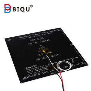 c0f099957a9b87 BIQU MK2A aluminum heatbed hot plate 300 300 3mm black for Mendel ...