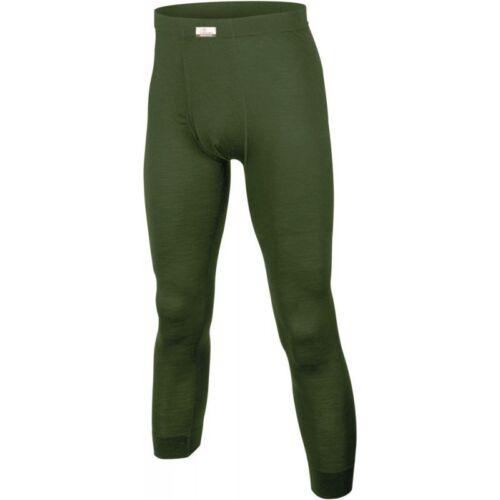 Lasting Merino Herren Unterhose lang Atok grün Funktions-Unterhose