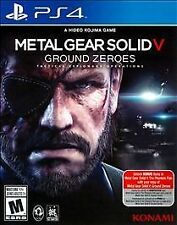 Metal Gear Solid V: Ground Zeroes - Sony Playstation 4 Game - Complete