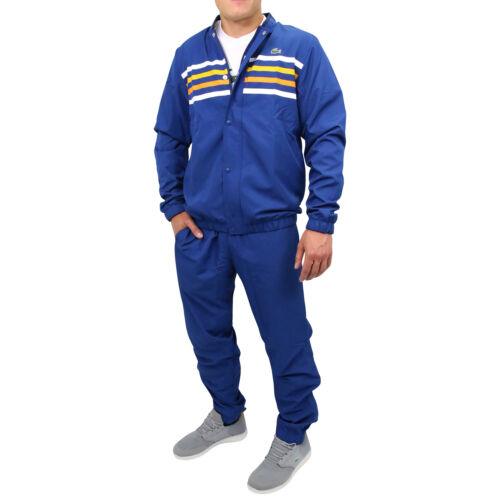 LACOSTE Survêtement avec Bande Couleur Fitness Jogging Costume Hommes wh3140