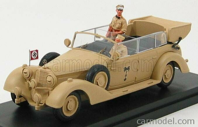 Riomodellolos 4342p scala 143 mercedes benz 770k africa korps 1941 rommel with