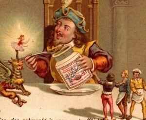 c-1892-LIEBIG-S-343-GARGANTUA-I-Giant-Fantasy-Feast-6-Victorian-Trade-Cards