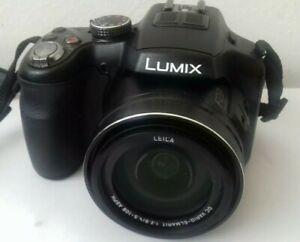 Top Zustand Panasonic LUMIX FZ200 Full HD Kamera mit 64 GB Karte m Zubehörpaket