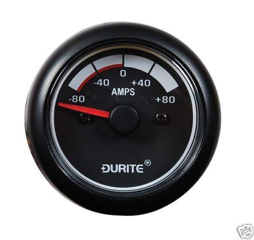 DURITE 0-525-01 12//24V LED 52MM AMMETER MARINE GAUGE