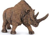 Papo Woolly Rhinoceros Large Toy Dinosaur Figure Prehistoric Animal 55031