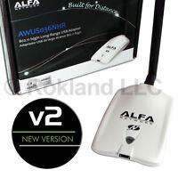 Alfa Awus036nhr V2 Version 2 Wireless-n Usb Wifi Adapter Realtek Rtl8188ru Chip