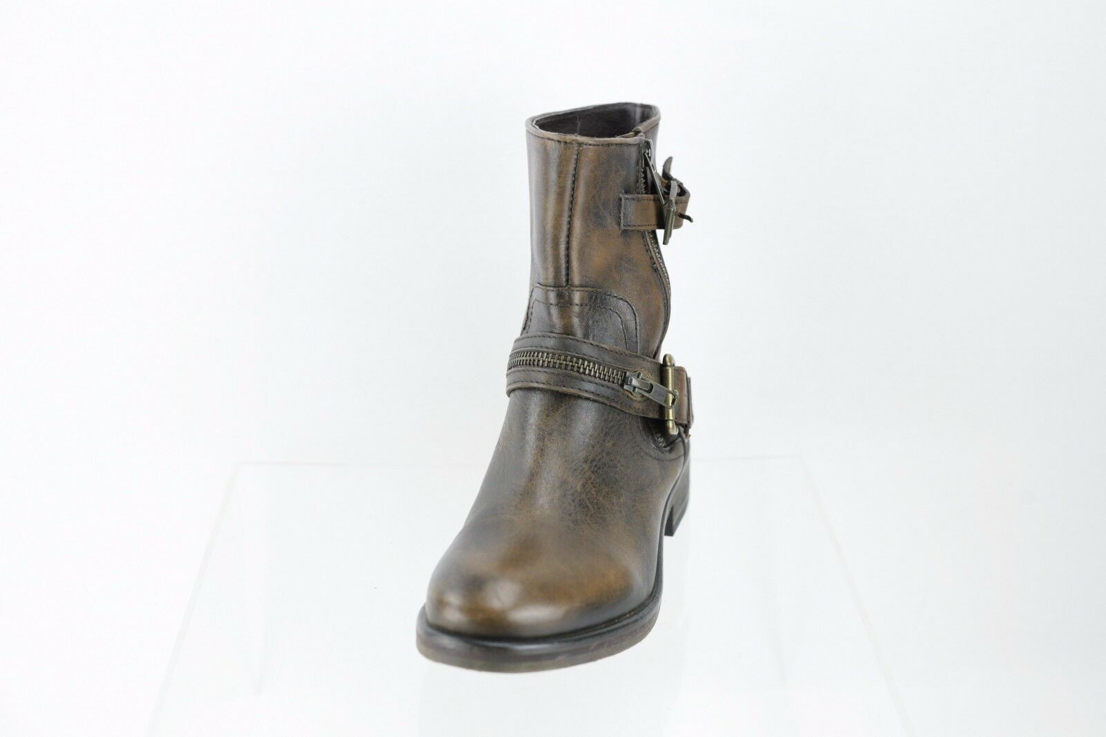 Hinge Compadre Brown Ankle Boots Women's Shoe Size 6.5 M NEW