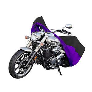 XXL Black+Silver Motorcycle Cover For Honda Shadow Rebel 250 750 1100 VTX VT