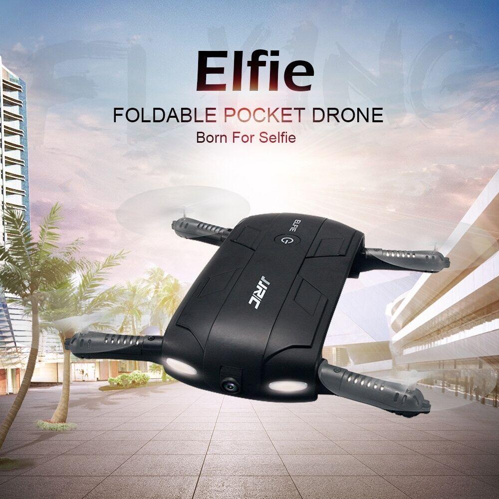 JJRC H37 Elfie Portátil Mini RC Drone con Cámara HD 720P Wifi