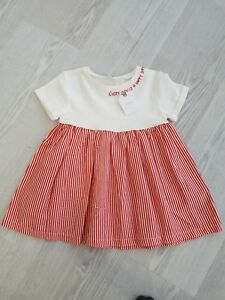 4 New Beautiful Girls Summer Dress Size 1 2