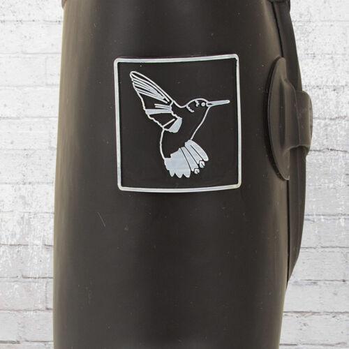 Bottes caoutchouc pour pour en caoutchouc femmes Wellie noires noires en femmes Evercreatures Short Bottes UxnrApUZ