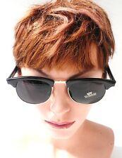 Gafas De Sol Retro Años 60 años Vintage en negro/ Gris azulado vintage UNISEX