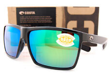 386ca68a09 Costa Del Mar Sunglasses Rincon Shiny Black Green Mirror 580p Polarized