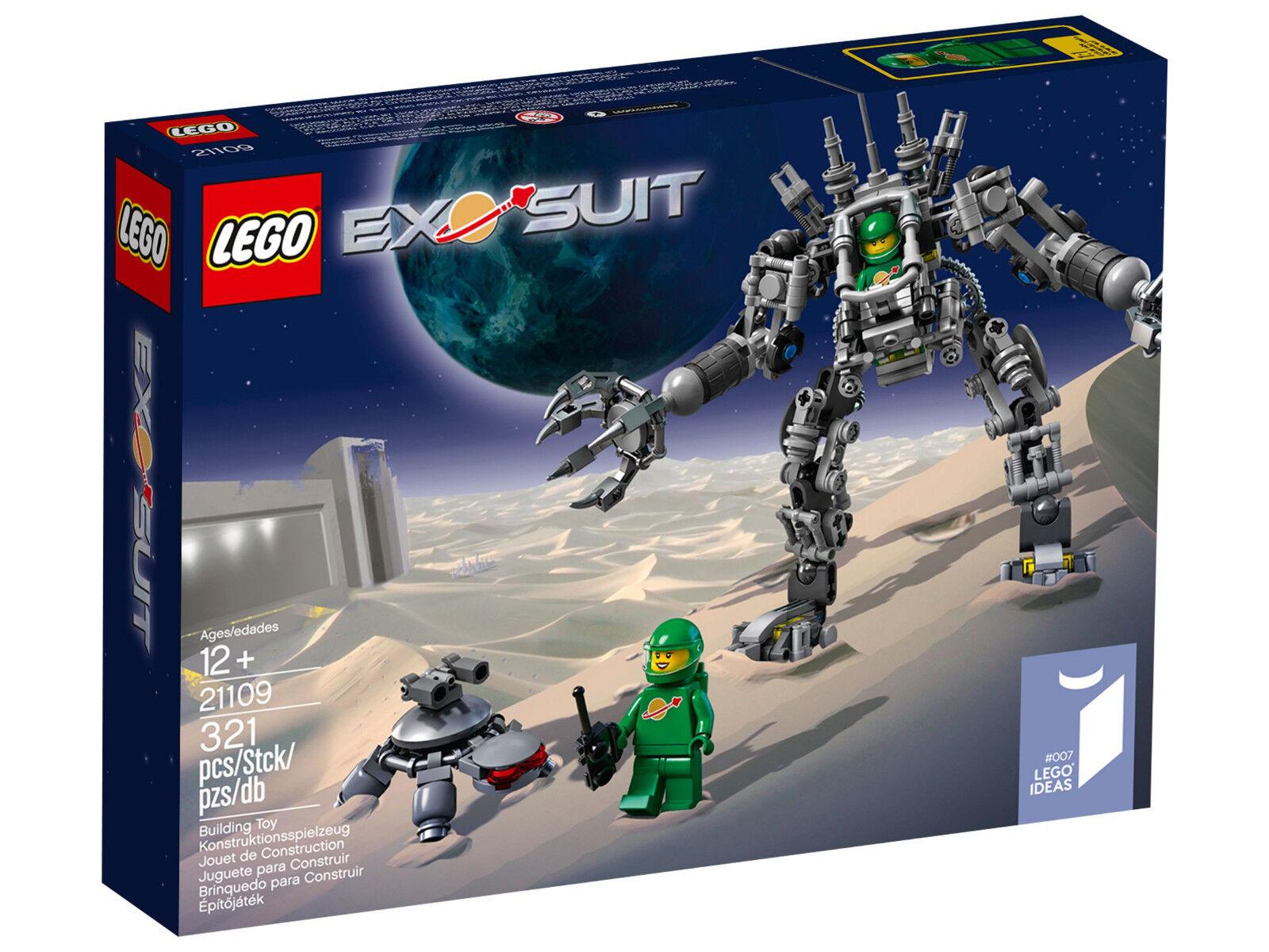 LEGO 21109 EXO Suit - Ideas  Cuusoo Exosuit Robot Pete Yve Weltraum spazio Mech  consegna rapida