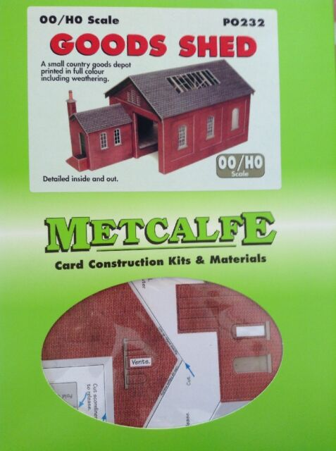 Metcalfe Kit PO232. Goods Shed. 00 Scale.