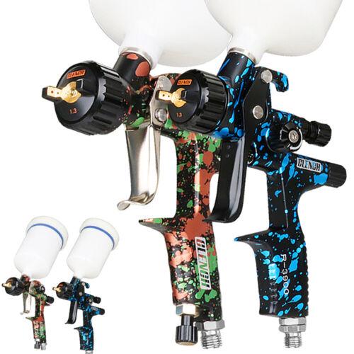 HVLP Air Spray Gun Kit 1.3MM Auto Car Primer Paint Sprayer Gravity Feed Repair