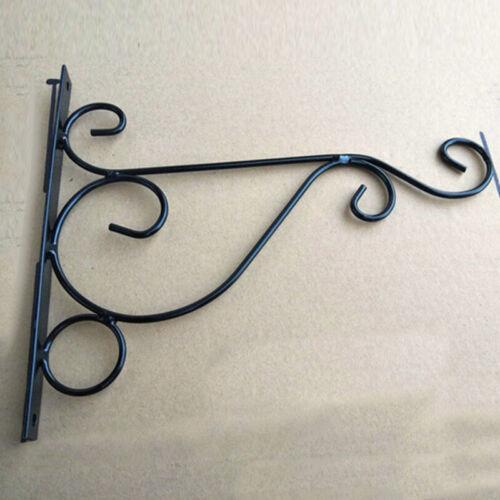 1pcs Metal Wall Hanging Bracket Art Plant Holder Hanger Hook Home Garden
