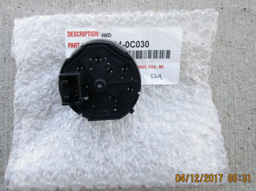 08-17 TOYOTA SEQUOIA LIMITED 4 WHEEL DRIVE TRANSFER POSITION SWITCH NEW 0C030