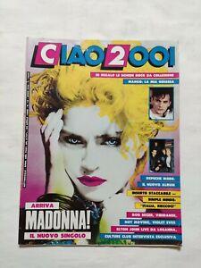 RARE-CIAO-2001-N-16-1986-INSERTO-MADONNA-SIMPLE-MINDS-DEPECHE-MODE-ELTON-JOHN