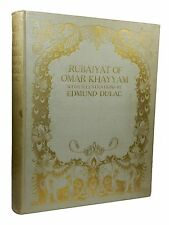 The Rubaiyat of Omar Khayyam with Illustrations by Edmund Dulac, 1909, First Ed.