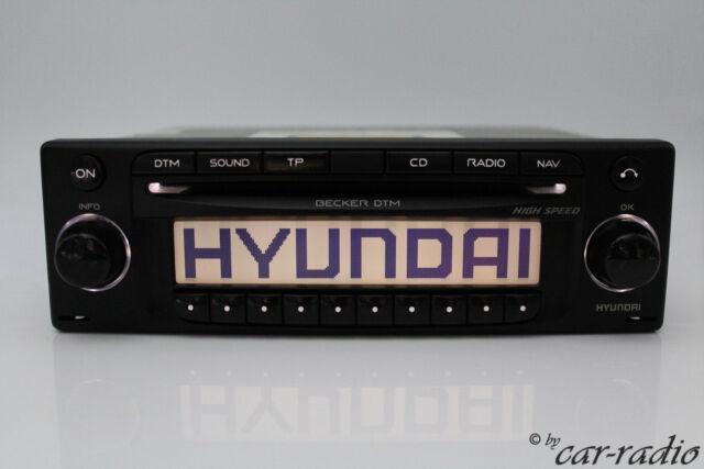 Hyundai Becker DTM BE7918 Navigationssystem RDS Doppeltuner Autoradio CD-Player