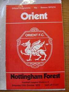 13101973 Leyton Orient v Nottingham Forest  No Apparent Faults - Birmingham, United Kingdom - Returns accepted within 30 days after the item is delivered, if goods not as described. Buyer assumes responibilty for return proof of postage and costs. Most purchases from business sellers are protected by the Consumer Contr - Birmingham, United Kingdom