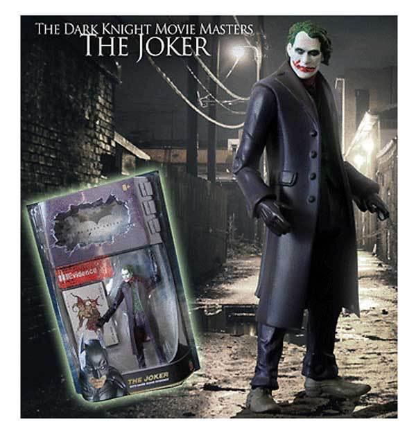 DC Comics BATMAN DARK KNIGHT Movie Masters JOKER 6