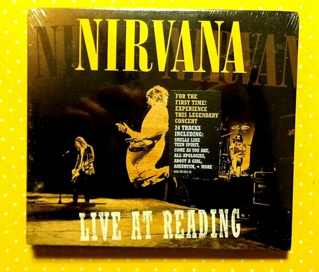 NIRVANA  -  LIVE AT READING  FESTIVAL 1999 -  2 CD 2009  NUOVI E SIGILLATI