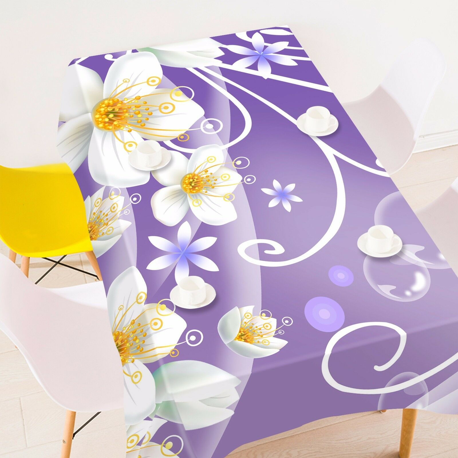 3D Flower 4278 Tablecloth Table Cover Cloth Birthday Party Event AJ WALLPAPER AU