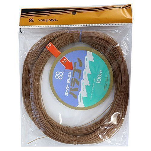YGK Yotsuami PARAGON Ring Fitting 100m Brown  Fishing LINE From JAPAN