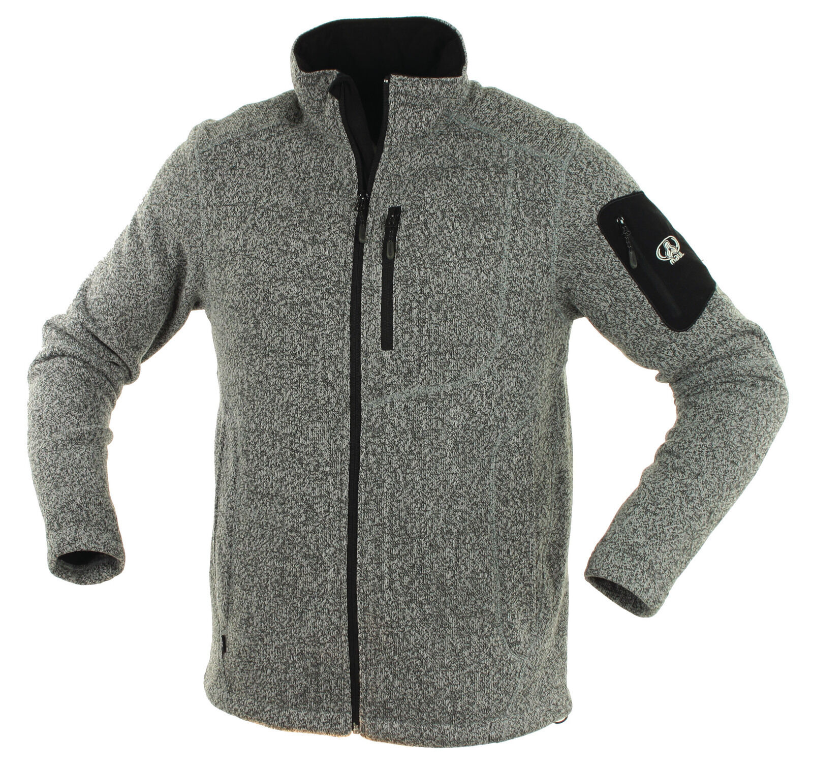 Boca Isny señores soga Fleece chaqueta sobre tamaño hasta xxxxxl cálido viento densamente aaividad