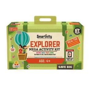 Details about Smartivity Explorer (S T E M + AR) Mega- Activity Kit Age 4+  Science Kit DIY