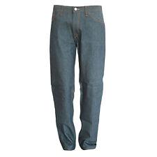 RALPH LAUREN Black Label boyfriend fit baggy raw blue denim jeans 29 NEW