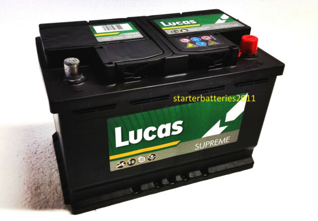 Lucas LS096 Car Battery TYPE 096 - 12V 78AH 780A - Mercedes Benz A 000 982 31 08