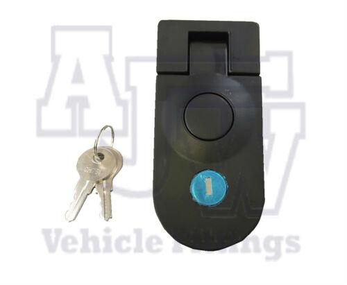 Trailer Locker 5 X Large Compression Latch Lock Black Locking C5 Horsebox