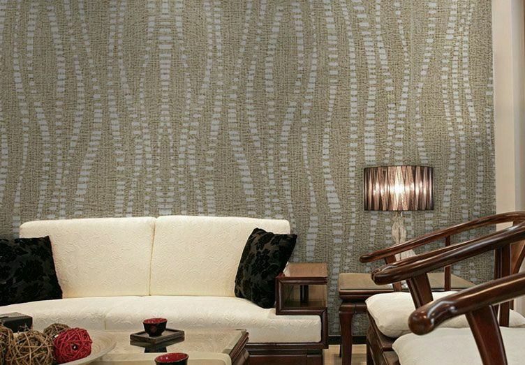 3D Simple Texture Lines Wall Paper Wall Print Decal Wall Deco Indoor wall Murals