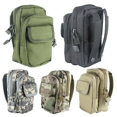 Military Tactical Outdoor Travel Camping Hiking Utility Pouch Bag Waterproof New
