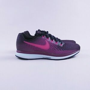4776d1ba1ed1f Nike Air Zoom Pegasus 34 Purple Grey White 880560-500 Women s ...