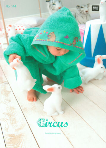 """144 /""""Circus/""""  NEU Stickheft von Rico Design Nr"""