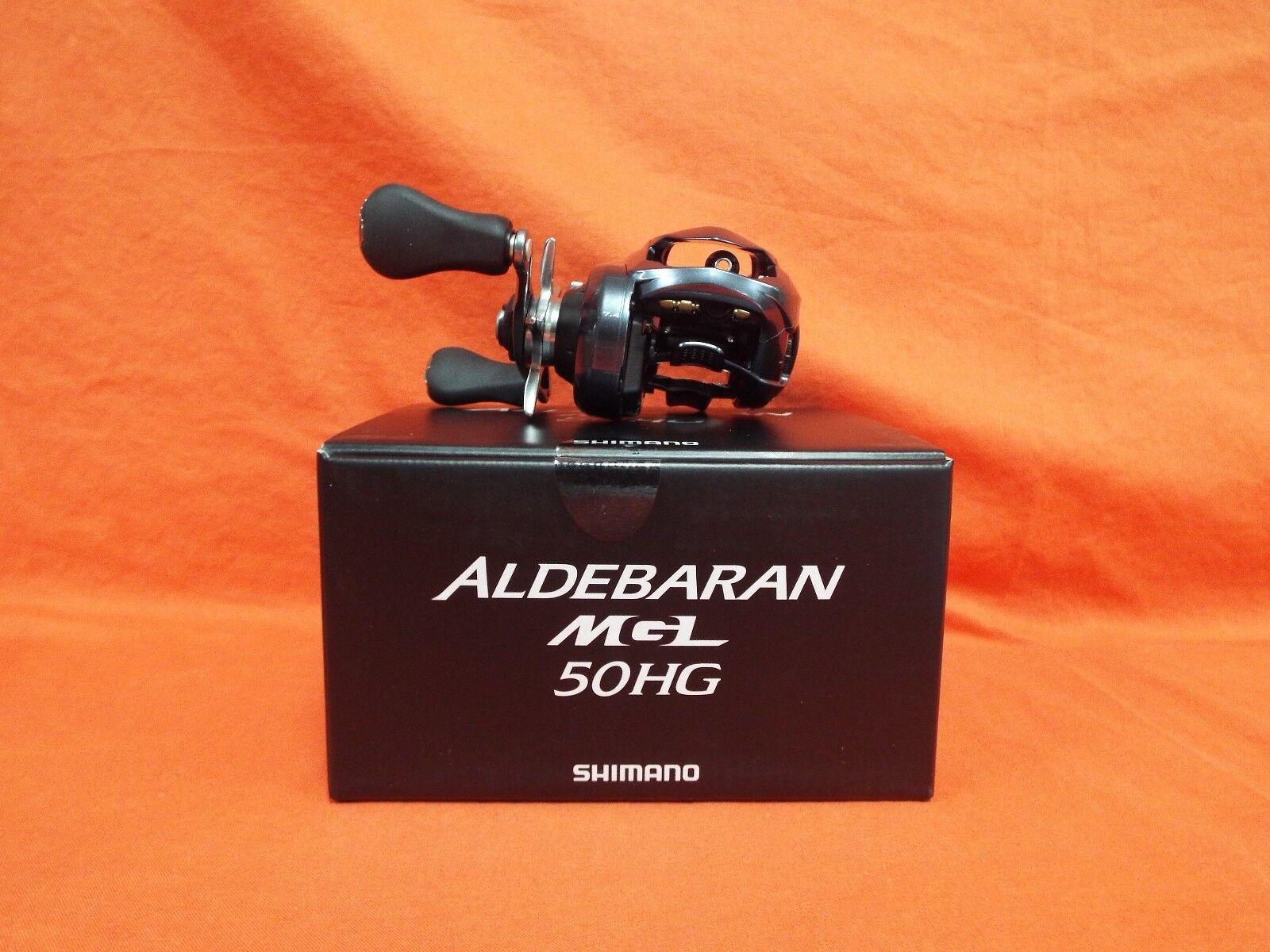 SHIMANO Aldebaran MGL Low Profile Baitcast Reel 7.4 1 Gear Ratio  ALDMGL 50HG