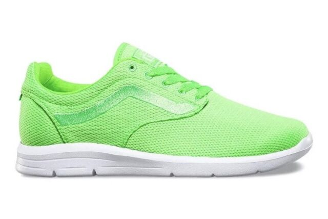 92b5b63d785bb3 VANS Mens 7.5 Womens 9 ISO 1.5 Mesh Green Gecko Running Athletic Sneakers  Shoes